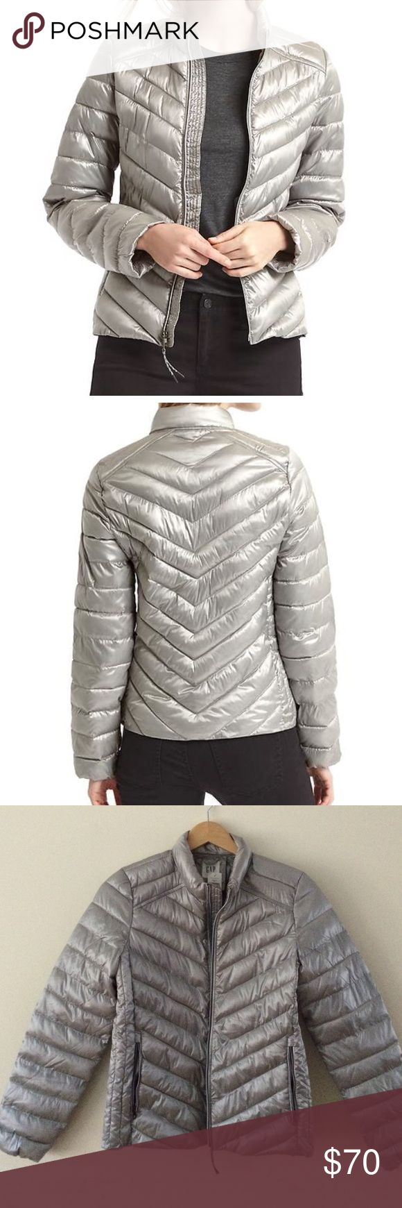 💥$10 off💥Gap Jacket💥HP💥 💥$10 off Today Only💥✨Bundling not included✨I will change price when ready to purchase. Lightweight puffers with PrimaLoft warmth without the bulk, water resistant and long sleeves to keep the cold out. Still available on Gap.com $110 GAP Jackets & Coats Puffers