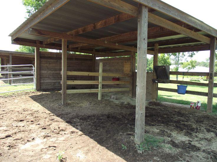 Best Horse Shelter : Best ideas about horse shelter on pinterest