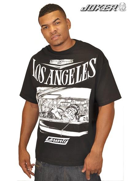 LA country Joker brand shirt