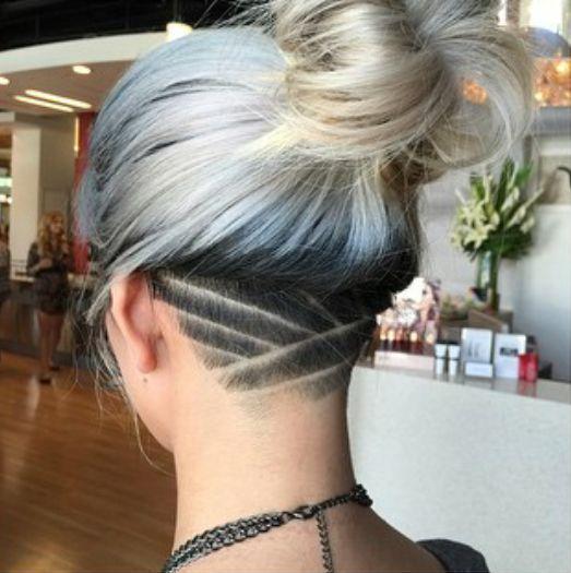 25+ best ideas about Undercut hairstyles women on Pinterest | Undercut hairstyles, Undercut hair and Girl undercut