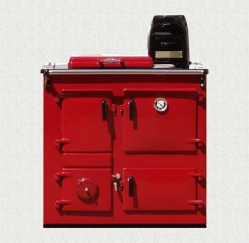 Reconditioned Rayburn No3 in Claret Enamel