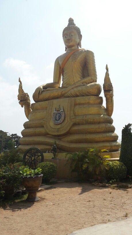 Golden Buddha at big Buddha, Phuket