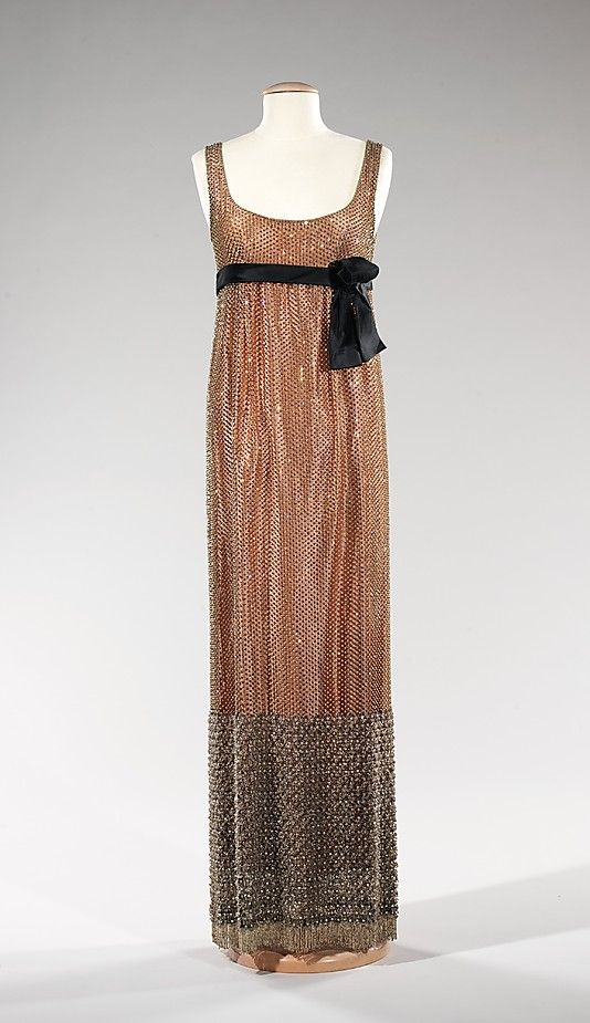Dress, Evening  Norman Norell  (American, 1900–1972)  Department Store: Bonwit Teller & Co. (American, founded 1907) Date: ca. 1963