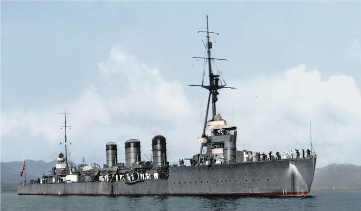 Tenryū (天龍) was the lead ship in the two-ship Tenryū-class of light cruisers of the Imperial Japanese Navy. (IJN)