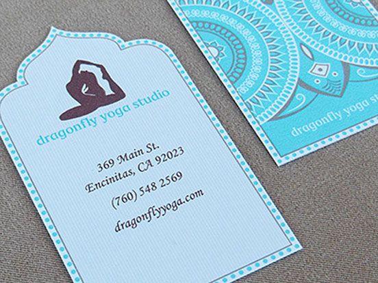 Dragonfly Yoga Studio Business Card