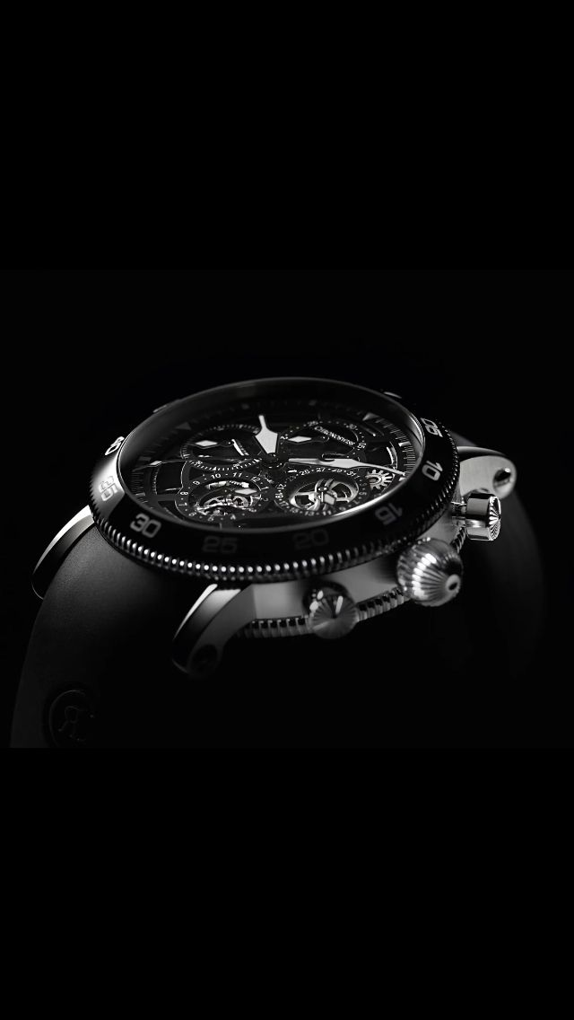 Chronoswiss watch > douche lumiere > fond noir