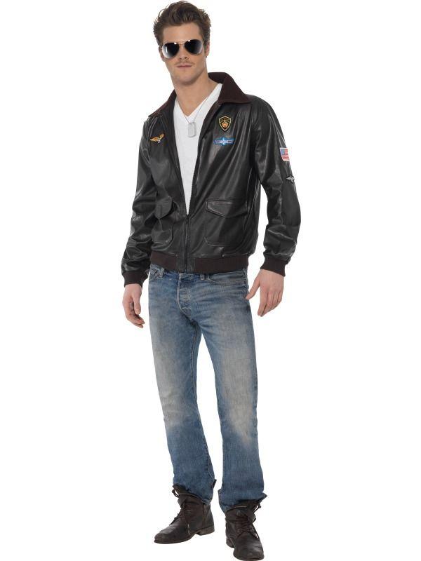Top Gun Bomber Jacket - Costume.  £35.99 : Get It On Fancy Dress Superstore, Fancy Dress & Accessories For The Whole Family. http://www.getiton-fancydress.co.uk/tvmusicfilm/topgun/topgunbomberjacketcostume.#.UzyIc6KNJ0o