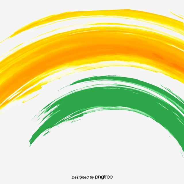 Indian Flag Color Painting Elements Flag Of India Brushing Green Png And Vector With Transparent Background For Free Download Indian Flag Colors Flag Colors Indian Flag