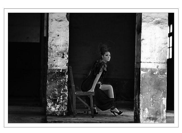 Elena Fashion Design Workshops : Lu Lu photo-shooting, final Fashion Project