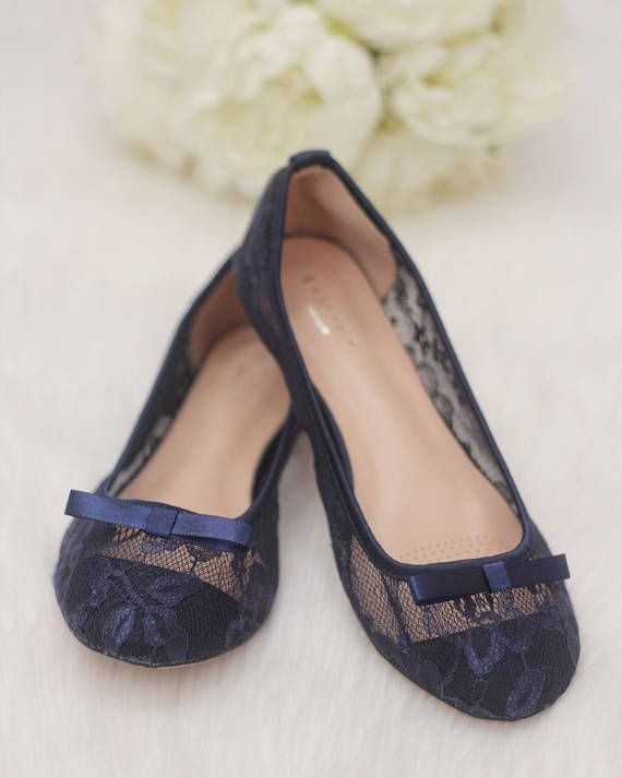 5f5c0753edc65c Women Navy Blue Wedding Shoes