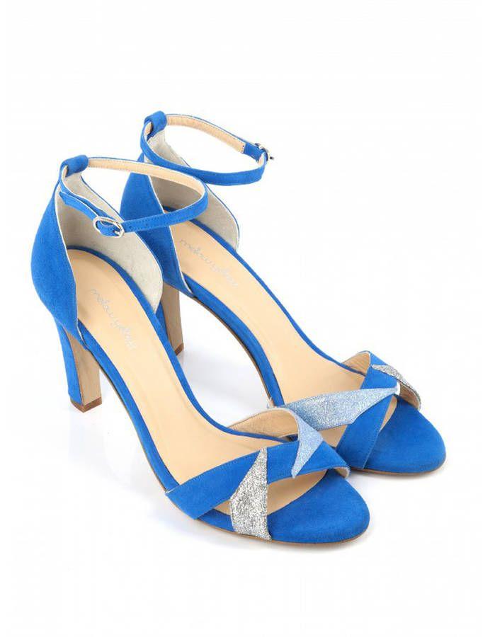 Sandales Avec Sangle Monnrow Royale Dune Bleu Bleu / Royal London qxNzDlStZ6