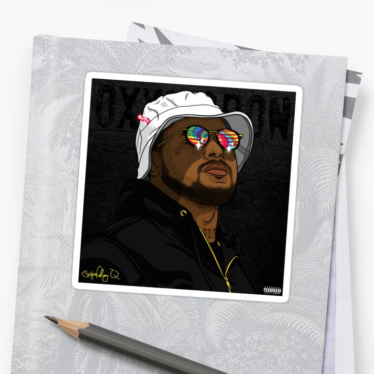 Schoolboy Q - Bucket hat and glasses by yeet-arizona