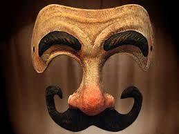Resultado de imagen para comedia del arte colombina mascara