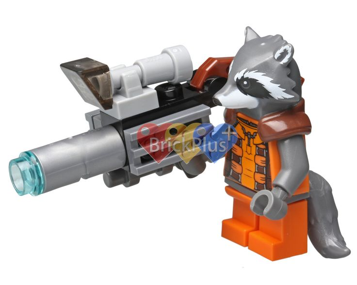 LEGO Rocket Raccoon Minifigure from Guardians of Galaxy (76020) Knowhere Escape Mission, Digital file, Instant download by Brick2you on Etsy