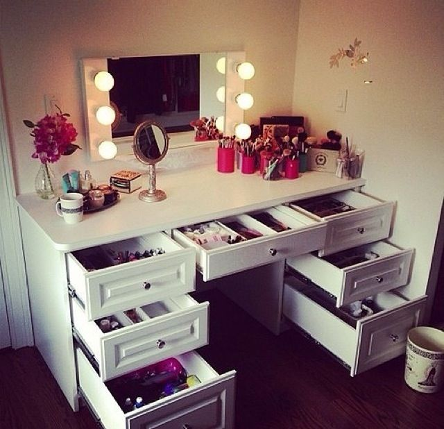 Where do you store your makeup?