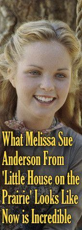 What Melissa Sue Anderson From 'Little House on the Prairie' Looks Like Now is Incredible