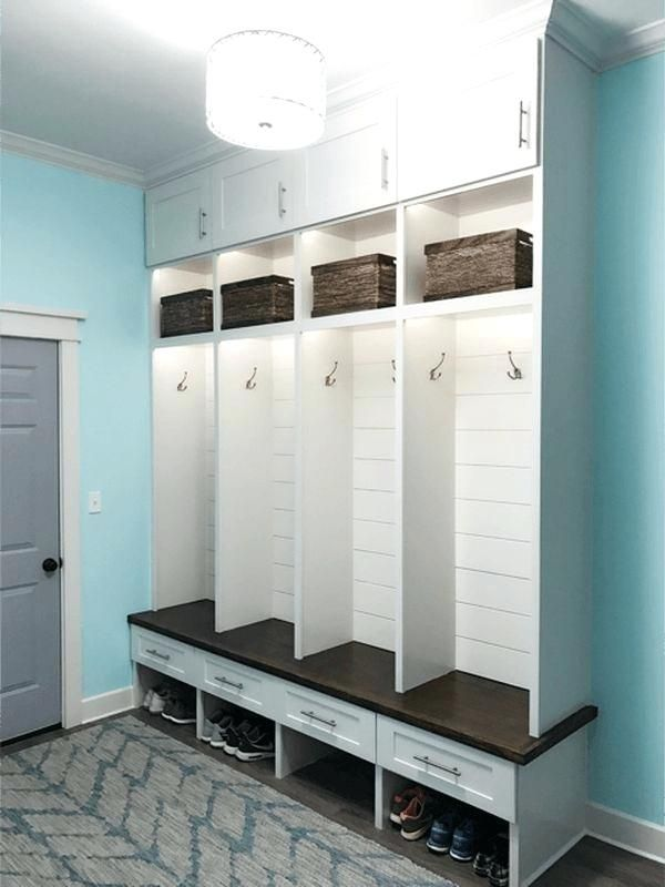Mudroom In Garage Ideas Best On Storage