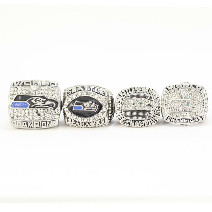 Seattle Seahwks 2005 2013 2013 2014  Replica Super Bowl Championship Ring Set Size 11