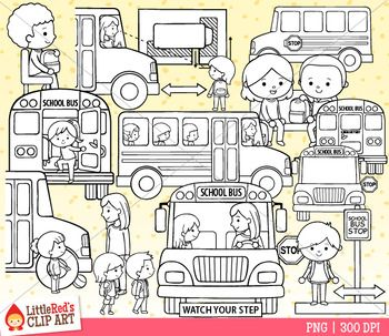 School Bus Safety Clip Art