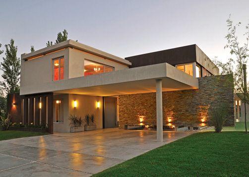 Ciba construcciones integrales bs as casa estilo for Estilos de casas modernas