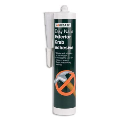 Exterior Grab Adhesive - 310ml at Homebase -- Be inspired and make your house a home. Buy now.