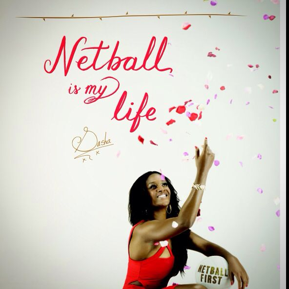 Netball is my life, Sasha Corbin