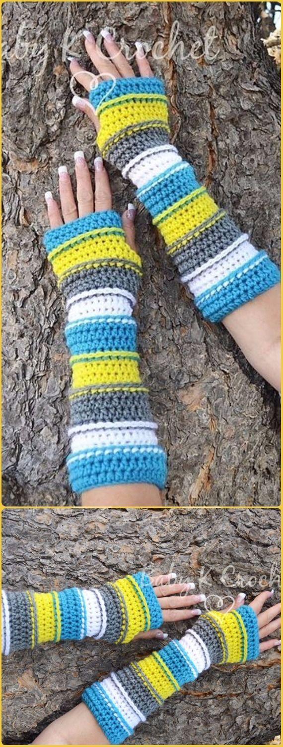 1362 best GLOVES images on Pinterest | Knit crochet, Knit mittens ...