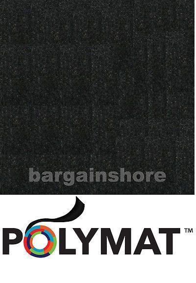 Speaker Sub Grills and Accs: 150Ft X 4Ft Black (5 Rolls 30Ft X 4Ft Ea) Speaker Box Carpet, Trunk Liner -> BUY IT NOW ONLY: $119.99 on eBay!