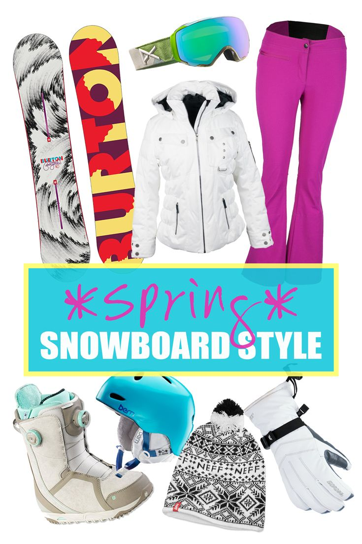 Spring Snowboard Style for Women
