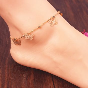 Charm Butterfly Ankle Bracelet //Price: $ 9.99 & FREE Shipping //     #jewelry #jewels #jewel #fashion #gems #gem #gemstone #bling #stones   #stone #trendy #accessories #love #crystals #beautiful #ootd #style #accessory   #stylish #cute #fashionjewelry  #bracelets #bracelet #armcandy #armswag #wristgame #pretty #love #beautiful   #braceletstacks #earrings #earring