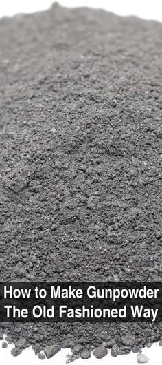 Here's an article that covers the basics of making your own gunpowder. If you want to learn how, read this to find out what's involved.