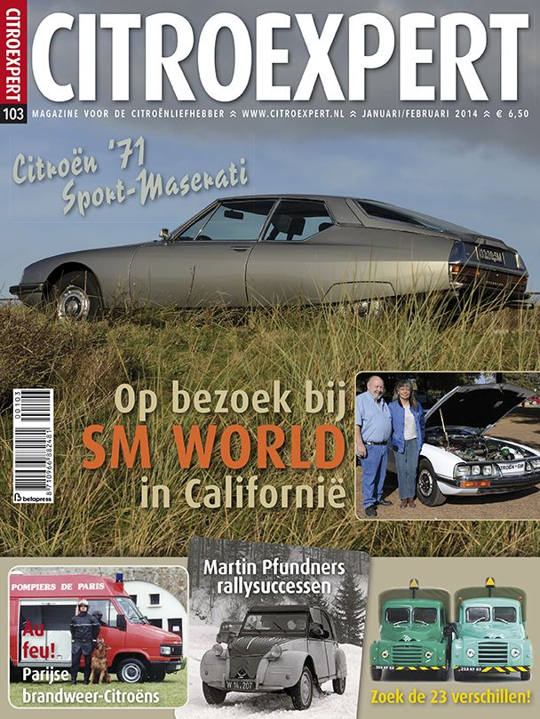CitroExpert 103, jan/feb 2014 http://www.citroexpert.nl/magazines/lezen/citroexpert-103-jan-feb-2014