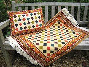Zagros 01 pillow & rug