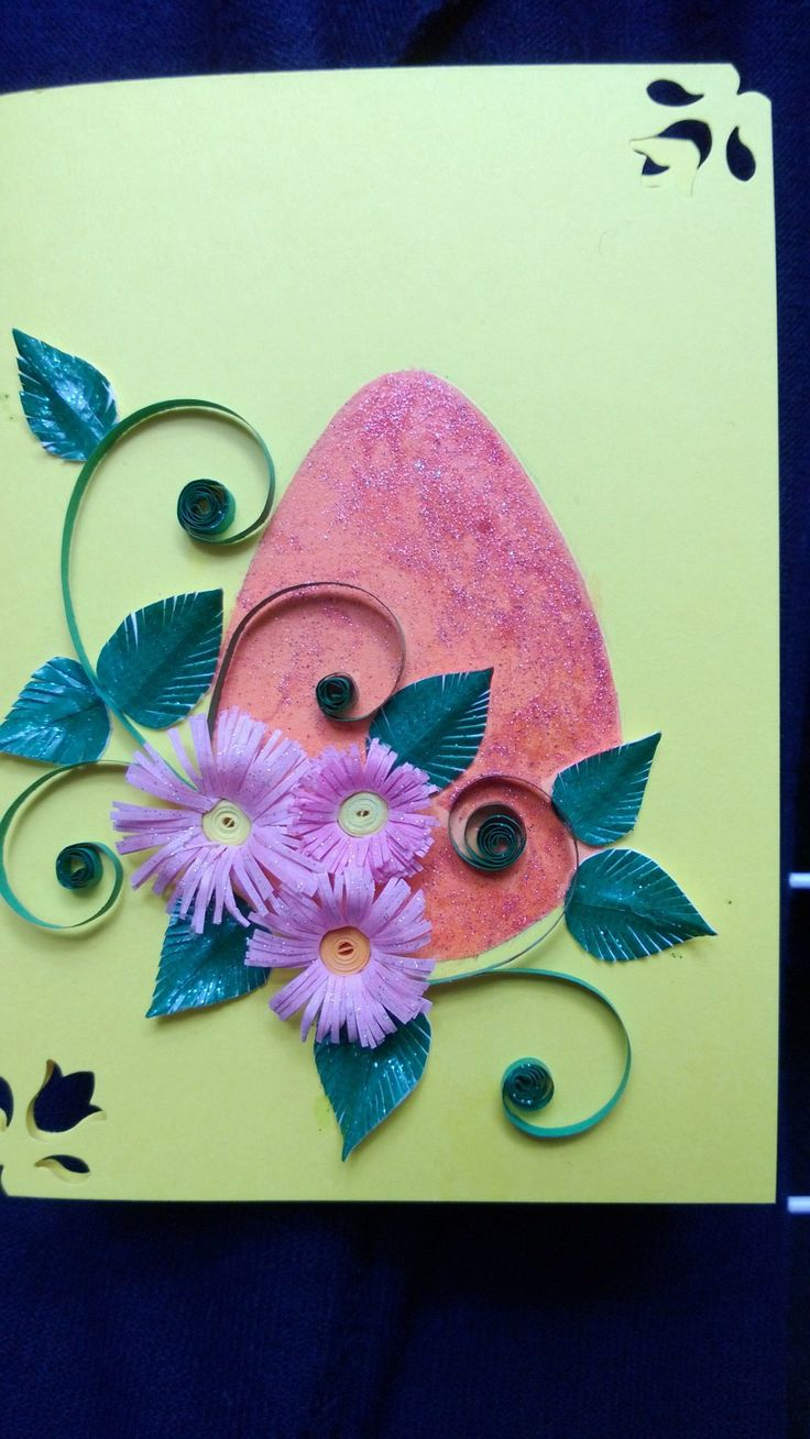 easter2 quilled card