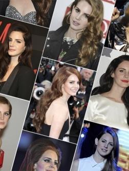 De vele kapsels van Lana Del Rey op een rij: van retro krullen tot pouf. Kijkt u mee