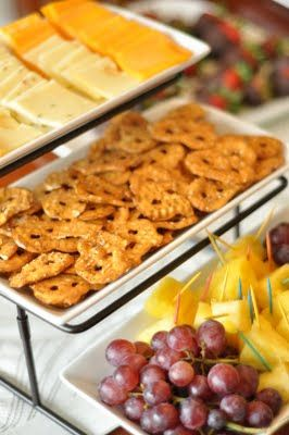 Love baby shower food :) - keep in mind if the mom to be has ...