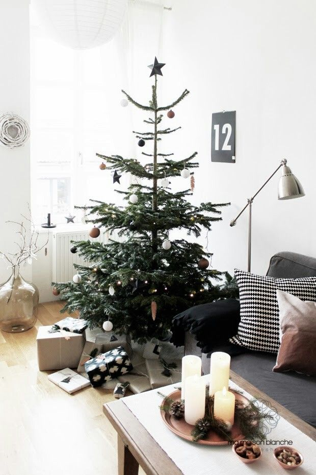 Christmas tree and decoration by Ma Maison Blanche