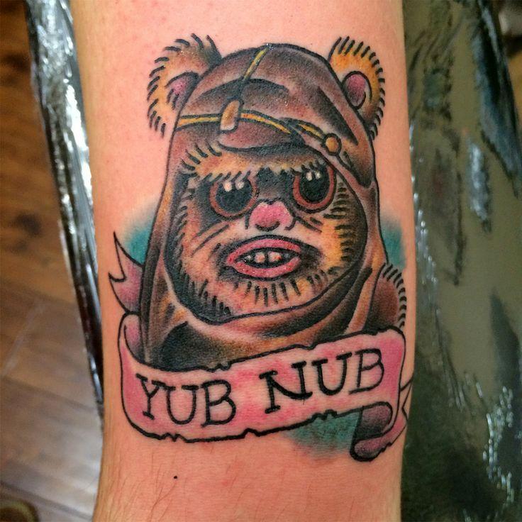 Ewok Wicket Tattoo