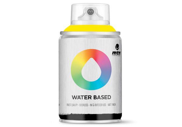 MTN Water Based Spray Paint Cad Yel Medium