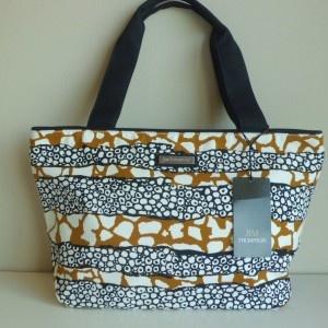 "Jim Thompson ""Dickson Bag""- Luxury Summer Shoulder Bag – Black/Brown/White"