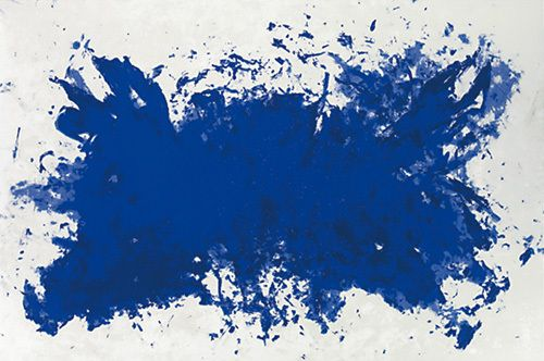 Hommage a Tennessee silkscreen print by Yves Klein at kingandmcgaw.com