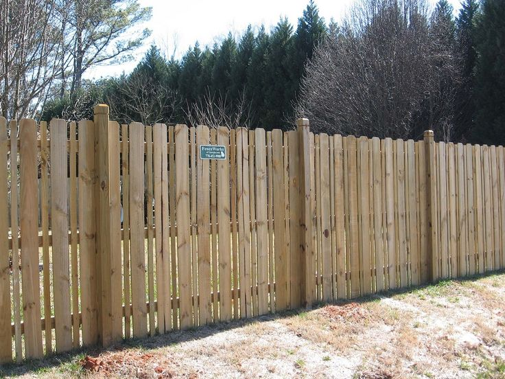 Pin By Fenceworks Of Georgia On Wooden Fences