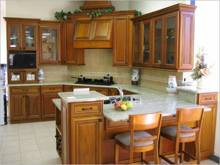 Kitchen Depot In New Orleans Home Design Withal Kitchens With Maroo Cherry Cabinets Kitchen Kitchen Cabinets And Backsplash Kitchen Cabinets Home Depot