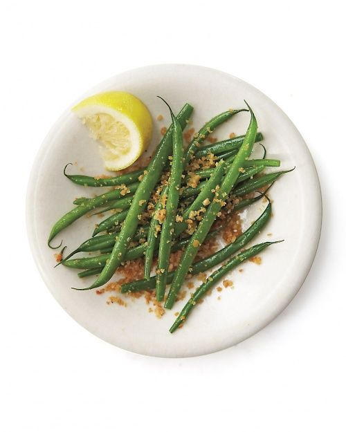 Crispy Green Beans - Whole Living Eat Well.  So simple.