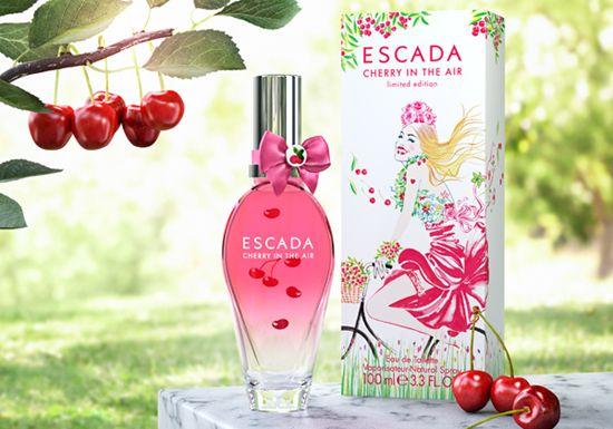 BEM-VINDO AO E.S.P FASHION BLOG BRASIL: Cherry in the Air de Escada (2013)