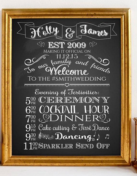 Best 25+ Wedding program sign ideas on Pinterest | Wedding program ...