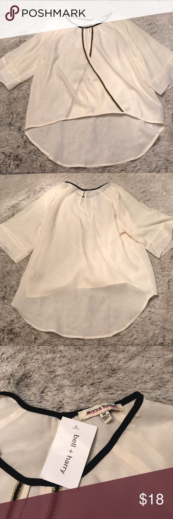 BNWT Keyhole Flowing Blouse BNWT Keyhole Flowing Blouse Tops Blouses