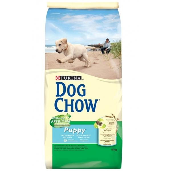 Purina Dog Chow Puppy Tavuk Etli ve Pirinçli Yavru Kuru Köpek Maması