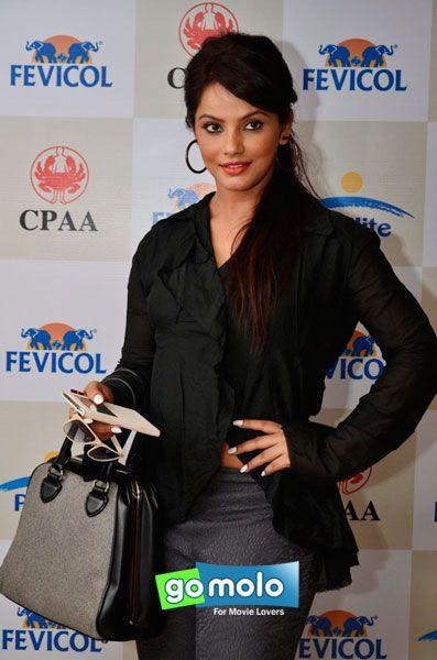 Neetu Chandra at Shaina NC's fashion preview in Mumbai