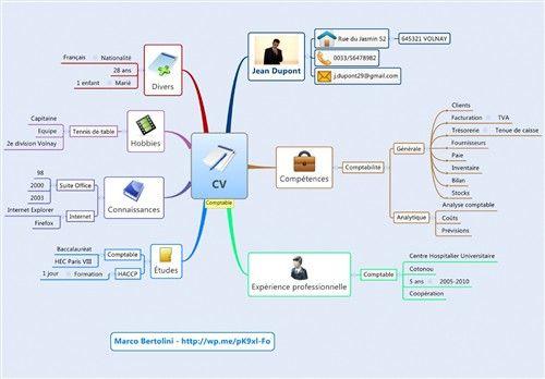 marco bertolini cv mindmap